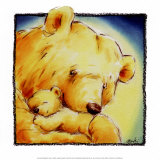Mother Bear's Love IV Prints by  Makiko