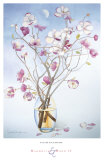 Magnolias and Moon II Prints by Richard Bolingbroke