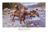 Überqueren des Flusses Kunstdrucke von Philip R. Goodwin