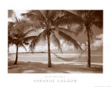 Paradise Lagoon Prints by David L. Kluver