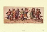 Danza de las musas Láminas por Julius Romanus