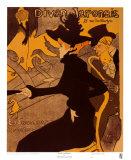 Divan Japonaise, c.1893 Láminas por Henri de Toulouse-Lautrec