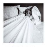 Marilyn im Bett Kunst von Milton H. Greene