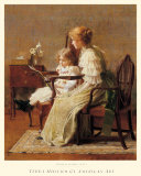 Mother and Child, c.1885 Prints by Francis Coates Jones
