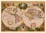 Flamands Affiches par Gerardus Mercator