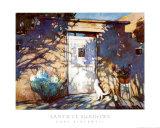 Schatten in Santa Fe Poster von Gary Blackwell