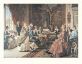 An Afternoon Concert Print by Arturo Ricci