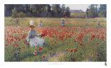 In Flanders Fields Kunstdrucke von Robert William Vonnoh