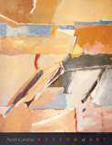 Berkeley No. 8 Plakat av Richard Diebenkorn