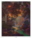Old Oak Glen Kunst af Maxfield Parrish