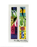 Beasts of the Sea Print by Henri Matisse