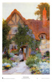 Outside the Cottage Print by Arthur Claude Strachan