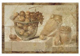 Roman Fresco Póster