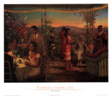 Serata estiva, 1925 Arte di Tim Ashkar