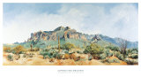 Superstition Mountain Prints by Charlotte Klingler