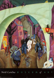 The Green Bridge II Posters av Lyonel Feininger