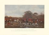 Sir Richard Sutton and the Quorn Hounds Láminas por Sir Francis Grant