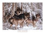 Crystal Forest Plakater af Larry Fanning