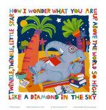 Twinkle, Twinkle Posters af Cheryl Piperberg