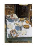 La mesa, 1925 Láminas por Pierre Bonnard