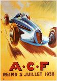Gran Premio dell'A.C.F. Poster di Geo Ham