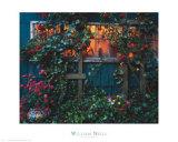 The Flower Garden Print by William Neill