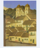 El Pueblo Posters av Fernando Botero