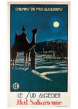Südalgerien Poster von S. Besse