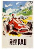 Grand Prix De Pau Plakater av Geo Ham