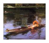 Boating on the Thames Posters av Sir John Lavery