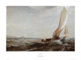 Attraverso l'aria e il mare Stampe di Charles N. Hemy