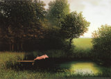 Kohlers Schwein (Herbst) Kunstdrucke von Michael Sowa