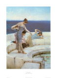 Silver Favourites, 1903 Print by Sir Lawrence Alma-Tadema