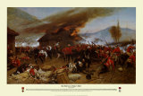 The Defence of Rorke's Drift Posters af Alphonse Marie de Neuville