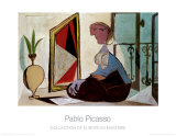 Femme au Miroir Plakater af Pablo Picasso
