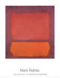 Untitled, 1962 Posters van Mark Rothko