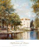 Reflections of France Pôsters por Michael Longo