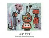 L'Oiseau au Regard, 1952 Poster af Joan Miró