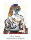 Frau mit Turban, 1955 Posters av Pablo Picasso