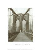 Le pont de Brooklyn, Dimanche matin Affiches par  The Chelsea Collection