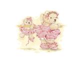 Ballerina Bears I Art by Sarah Bengry