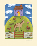 Purple Farmhouse Posters by Sophie Harding