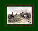 Hunting Morn Print by George Wright