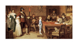 And When Did You Last See Your Father Print by William Frederick Yeames