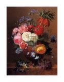 Floral Still Life II Posters af Arnoldus Bloemers