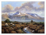 Ben Nevis Poster by Wendy Reeves
