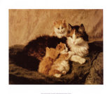 Contentment Art by Henriette Ronner-Knip