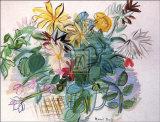 Bouquet de fleurs Affiches par Raoul Dufy