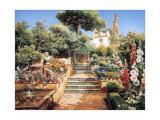 Flower Garden Affiches par Manuel Garcia Y Rodriguez