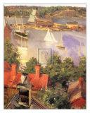 Harbour View Prints by Akseli Kalella